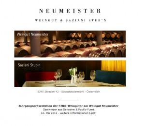 Saziani Stub'n - Neumeister