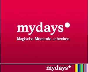 mydays Österreich - besondere Geschenksgutscheine und Geschenkideen