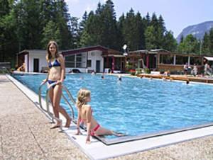 Waldbad Schoppernau & Tennisanlage Schoppernau