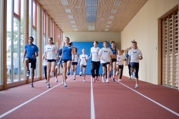 Bogenschieß- und Sprintgang