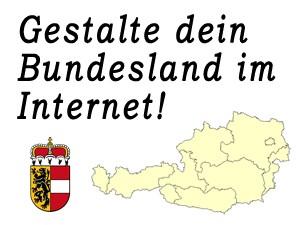 Gestalte das Bundesland Salzburg im Internet mit!