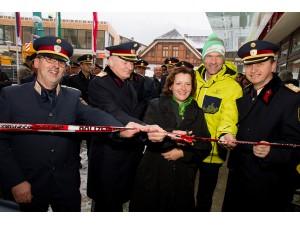 Neue Polizeiinspektion für die WM-Stadt Schladming