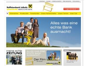 """""""Meine echte Bank"""" mit neuem Online-Auftritt und in Social Media aktiv"""