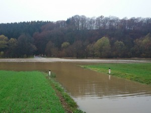 Hochwasser in der Südsteiermark