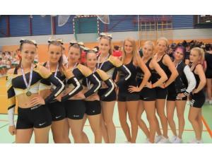 Rangers Cheerleader sind Regionalmeister!